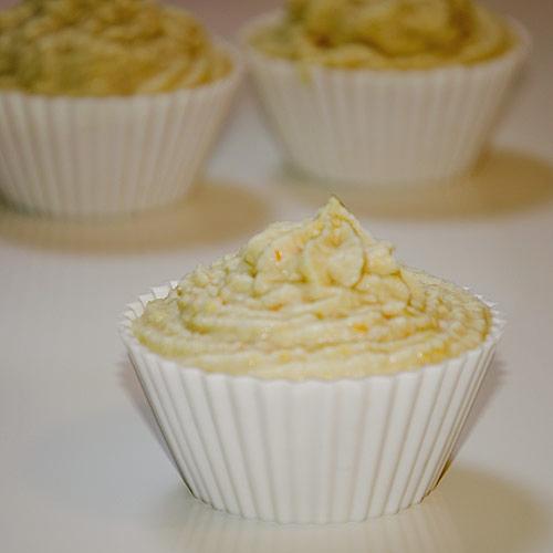 Cupcakes de limón y mandarina