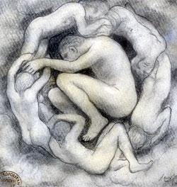 Khalil Gibran, cuentos, poesías y pintura.