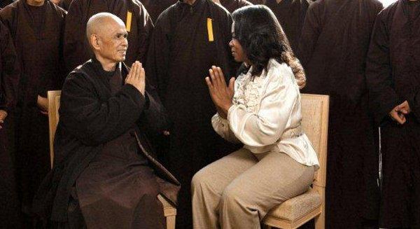 Entrevista a Thich Nhat Hanh por Oprah Winfrey